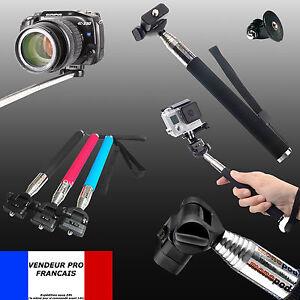 22-110cm-Perche-Gopro-Telescopique-Monopode-Adaptateur-Vis-pour-Hero-HD-1-2-3-4