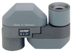 Docter Optic Compact 8x21 Monocular Gray 50328