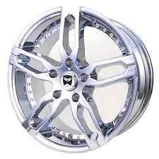4 GWG Wheels 18 inch Chrome KENZI Rims fits MERCEDES-BENZ ML320 (163) 2000-2002