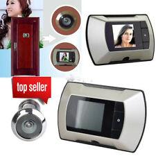 "2.4"" LCD Digital Ring Monitor Door Peephole Viewer Camera Cam Jingle Doorbell LY"