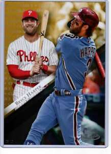 Bryce-Harper-2019-Topps-Gold-Label-Class-One-5x7-Gold-62-10-Phillies