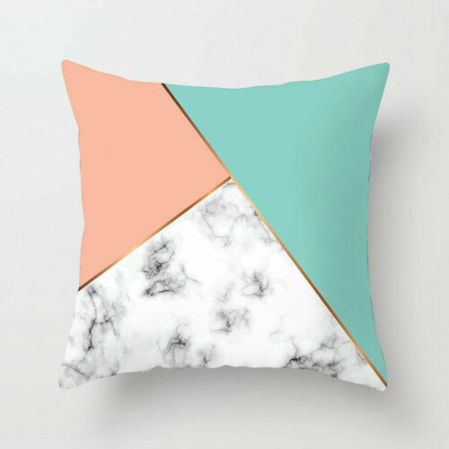 Sofa Cushion Polyester Cover Pillow Home Decor Cases Printed Throw Geometric