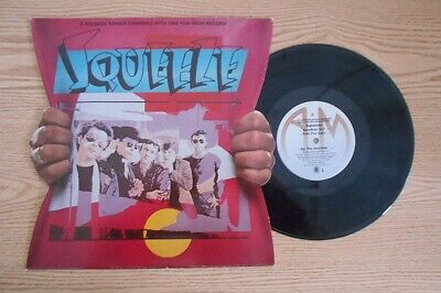 SQUEEZE 6 SQUEEZE SONGS CRAMMED INTO ONE 10 INCH RECORD DIE CUT COVER | eBay