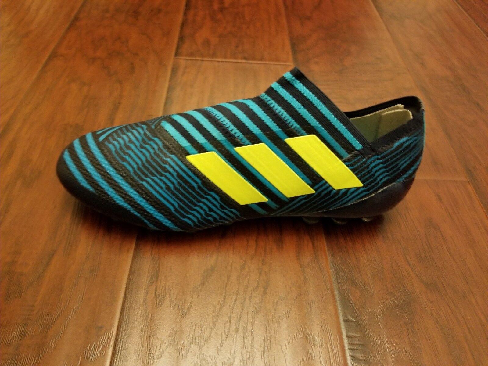 Adidas Nemeziz 17+ 360 Agility AG Men's Soccer Cleats [S82271] Sz 13