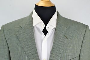Ermenegildo-Zegna-Multicolor-Microplaid-100-Wool-Sport-Coat-Jacket-Sz-38R