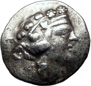 THASOS-Thrace-148BC-Authentic-Ancient-LARGE-Silver-Greek-Tetradrachm-Coin-i70112