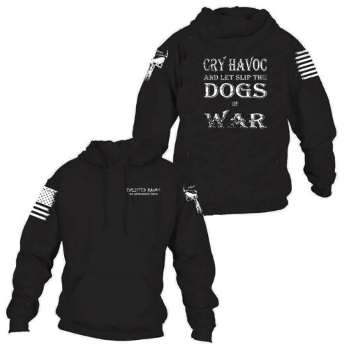 Enlisted Ranks graphic hoodie,sold by the #1 seller of Grunt Style CRY HAVOC