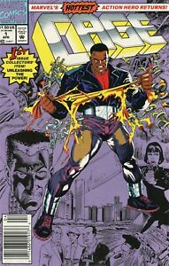 1992-CAGE-1-4-amp-6-SET-OF-5-ISSUES-PUNISHER-APPEARANCE-MARVEL-COMICS-VF