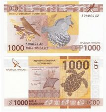 FRENCH PACIFIC TERRITORIES 1000 Francs (2013) UNC.