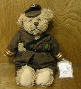 """Ganz Cottage GOOD LUCK TEDDY by Lorraine Chien NEW/Tag From Retail Store 12"""" LE"""