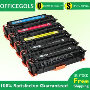 5PK-Toner-Set-For-HP-CF380A-312A-LaserJet-Pro-MFP-M476dn-M476dw-M476nw-Printer
