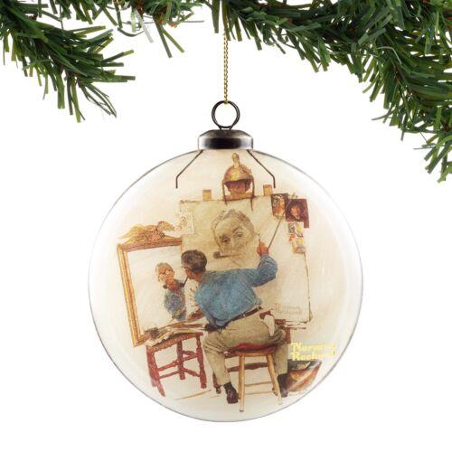 Special 2 Granddaughter snowglobe glass Christmas Ornament NIP
