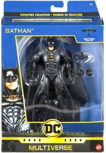 DC World/'s Greatest Multi-Univers Batman Action Figure Signature Collection