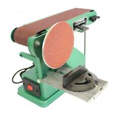 220v Desktop Multifunction Combination Sander Electric Belt Amp Disc Sander