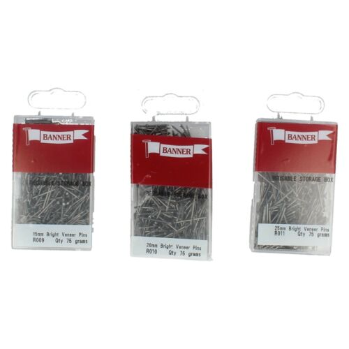 R009//R010//R011 bright placage broches par banner £ 0.99