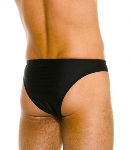 Kiniki Brazil Swim Brief Black Poly Lycra Men/'s Swimwear Made in England
