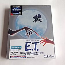 E.T. The Extra Terrestrial Blu-Ray Steelbook [Japan] W/Booklet! RARE! SOLD OUT!
