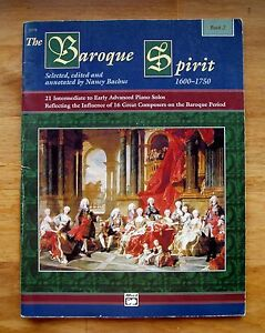 FidèLe Le Baroque Spirit 1600-1750 Livre 2, Ed Nancy Bacchus * 21 Intermediate-advanced-dvanced Fr-fr Afficher Le Titre D'origine ArôMe Parfumé