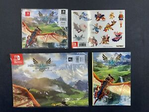 ...::: Monster Hunter Stories 2 Wings of Ruin Poster Notebook Stickers Cloth :..