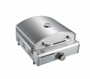 Outdoor-Pizza-Oven-Stone-Maker-Propane-Portable-Gas-Stainless-Steel ...