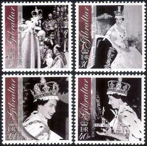 Gibraltar-2003-Queen-Elizabeth-II-Coronation-Royalty-Royal-People-4v-set-n27286