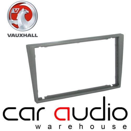 Vauxhall Corsa 2000-06 Car Stereo Double Din Dark Grey Fascia Panel CT24VX36
