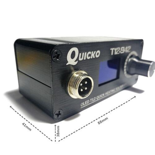 T12-K Ti NzT YU T12-942 Mini OLED Digital Soldering Station T12-907 Handle