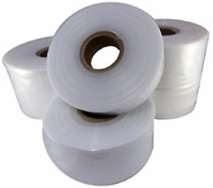 """LAYFLAT POLITENE TUBI DI PLASTICA 250 Gauge 1 rotolo di 4 /""""Wide x 336m"""