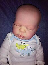 "Reborn Newborn Baby Boy Harper 19"" Anatomically Correct  ~ Custom Order ~"