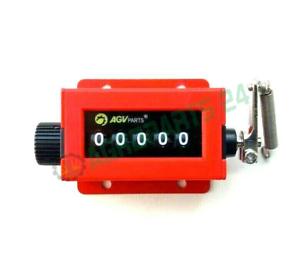 Ballenzähler Zählwerk Zähler Betriebsstundenzähler universal nach oben auslösend
