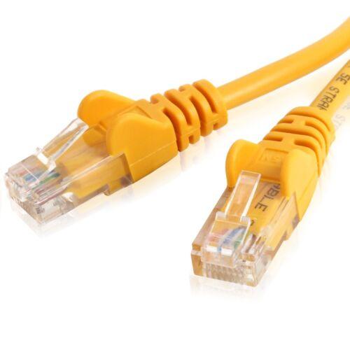 Details about  /Cat5e//Cat6 RJ45 NETWORK CABLES Ethernet Internet Patch Lead Short//Long 26//24 Lot