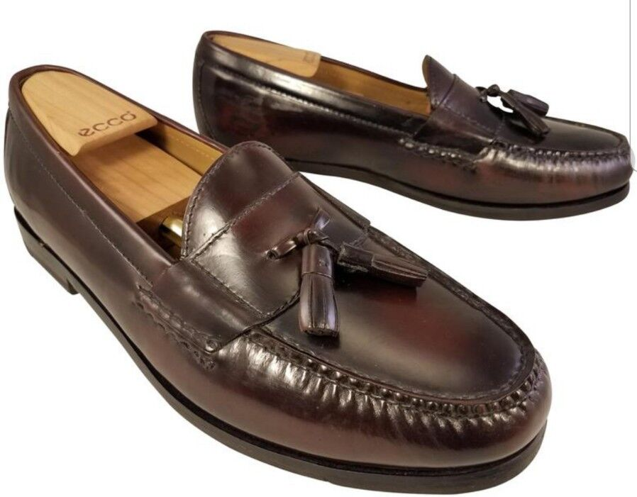 3fa33448381 COLE HAAN HAAN HAAN GRANDOS PINCH PENNY LOAFERS SHOES SLIP ON CORDOVAN MAN  SIZE 11 W EUC f922b6