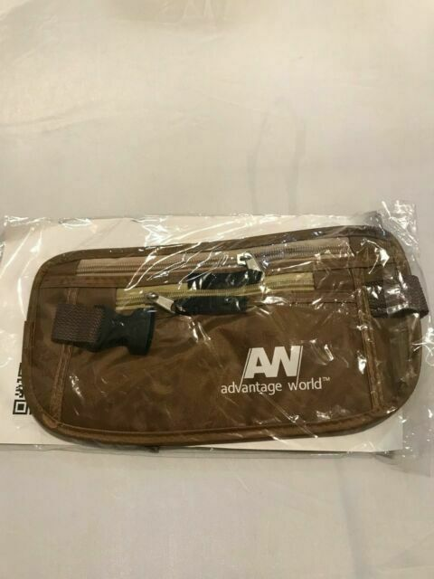 Advantage World Travel Pouch Hidden Money Belt With Rfid Paracord Strength For M For Sale Online Ebay