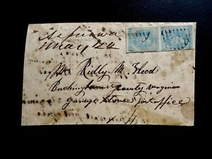 CONFEDERATE TURNED COVER ASPENWA, VA. - GANEYS STORE, VA. LOT1259