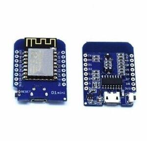 Details about D1 Mini NodeMcu 4M bytes Lua WIFI Development Board ESP8266  by WeMos