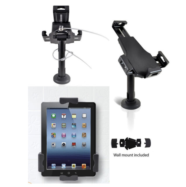 Anti Theft Countertop Desk Wall Mount Stand Kiosk For Ipad