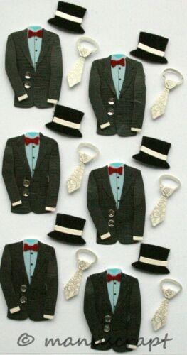 Anzug Artoz Artwork 3D-Sticker Hochzeit Bräutigam Liebe