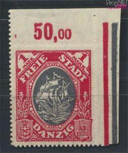 Danzig-58I-geprueft-Kogge-im-Feuer-Feld-10-postfrisch-1921-Handelsk-9222580