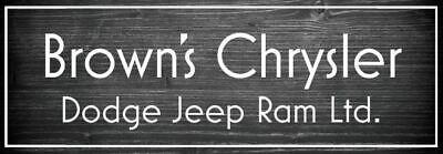 Brown's Chrysler Dodge Jeep Ram