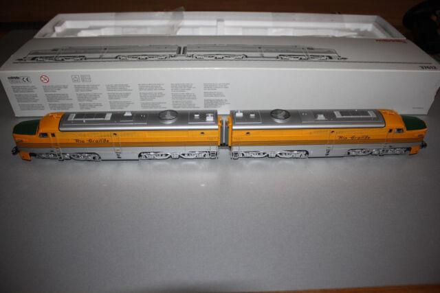 Märklin 37612 mfx Digital Diesellok-Doppeleinheit Rio Grande Spur H0 OVP