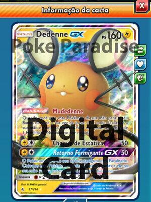 Dedenne GX 57//214 Pókemon Trading Card Game Online