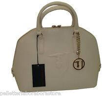 Borsa TRUSSARDI JEANS B555 handbag BUGATTI AVORIO
