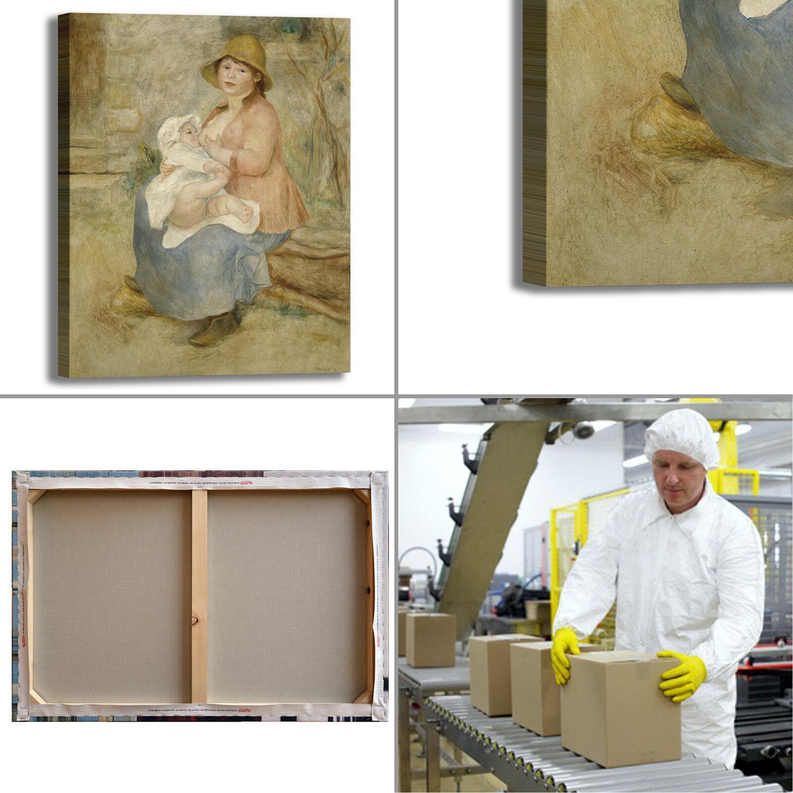 Renoir maternità design quadro stampa telaio tela dipinto telaio stampa arRouge o casa 2a641f