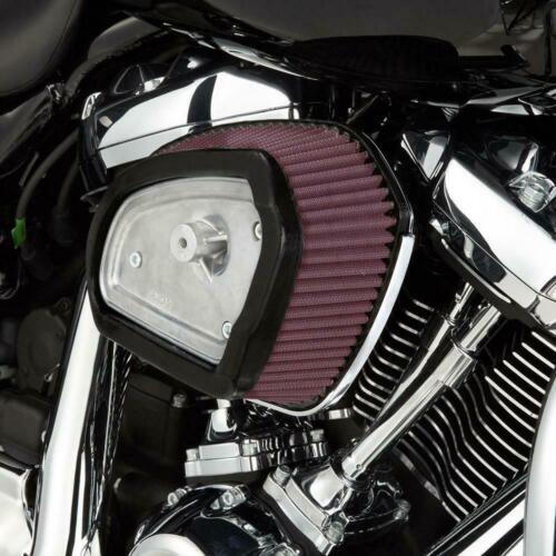 High-flow air cleaner kit wedge big sucker for harley-davidson touring m8