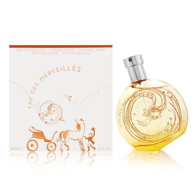 Hermes Eau des Merveilles Edt Eau de Toilette Spray 50ml NEU/OVP