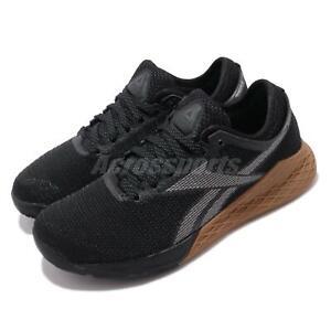 Reebok-Nano-9-Black-Grey-Gum-Women-CrossFit-Training-Shoes-Gym-Sneakers-EG4424
