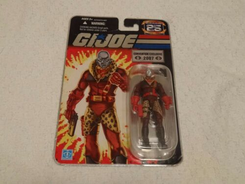 G.I Joe Weapons Supplier Destro Convention Exclusive 2007 25th Anniversary