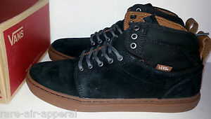 VANS OTW ALOMAR SUEDE BLACK GUM SKATEBOARD HIGH HI TOP SHOES MENS 8 ... 8862e5e42e6