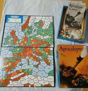 Raro-Vintage-1980-Gioco-da-tavolo-034-Apocalypse-034-the-game-of-nuclear-devastation