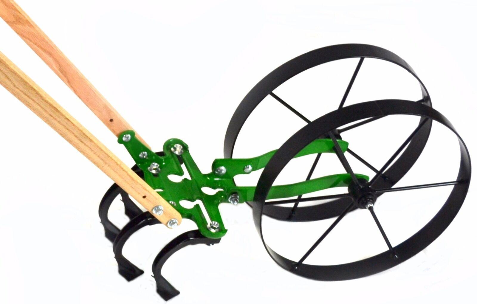 Radhacke  doppelt   double wheel hoe Hoss wheelhoe hacke